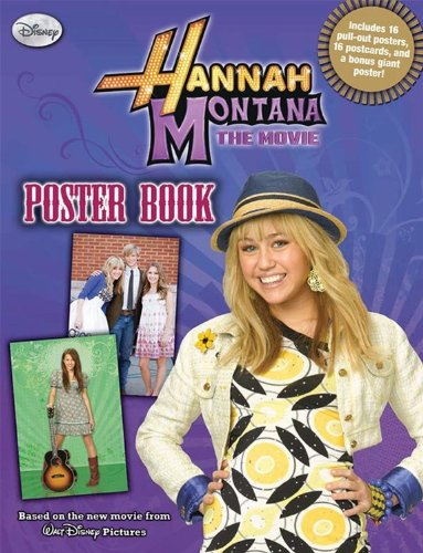 9781423118183: Hannah Montana: The Movie (Poster Book)