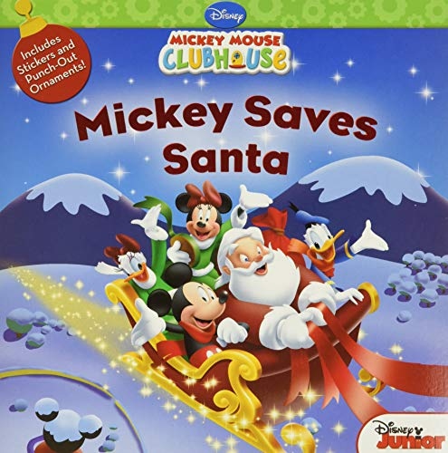 9781423118466: Mickey Saves Santa (Mickey Mouse Clubhouse)