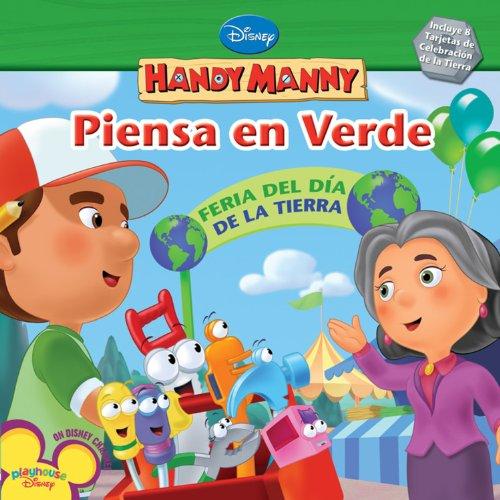 9781423119012: Piensa en Verde (Disney Handy Manny)