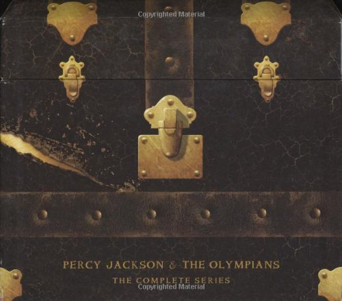 9781423119500: Percy Jackson and the Olympians Hardcover Boxed Set: Books 1 - 5 (Percy Jackson & the Olympians)