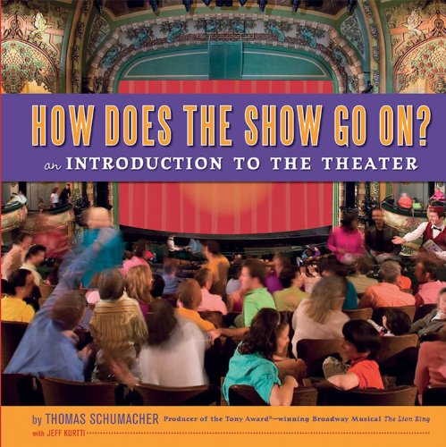 9781423120308: How Does the Show Go On (Disney On Broadway Souvenir Book, A)