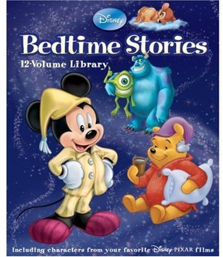9781423122593: Disney Bedtime Stories 12-Volume Library (BTMS custom pub)