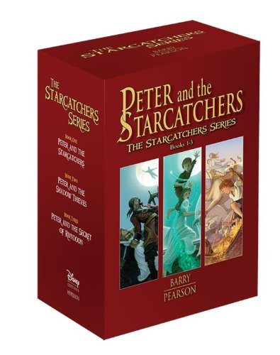 9781423123736: Peter and the Starcatchers: The Starcatchers Series Books 1-3: Paperback Box Set
