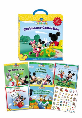 Mickey Mouse Clubhouse Collection (5 Books)