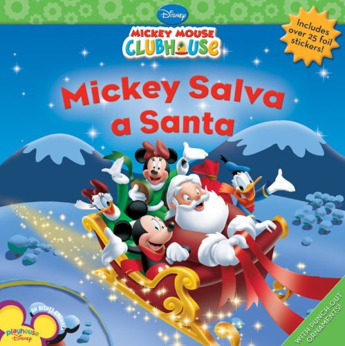 9781423128212: Mickey Salva a Santa (Disney Mickey Mouse Clubhouse)