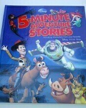 5-Minute Stories: Pixar and Adventure Compilation (BGI custom pub)
