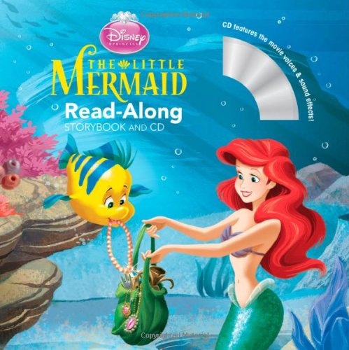9781423133360: The Little Mermaid Read-Along Storybook and CD
