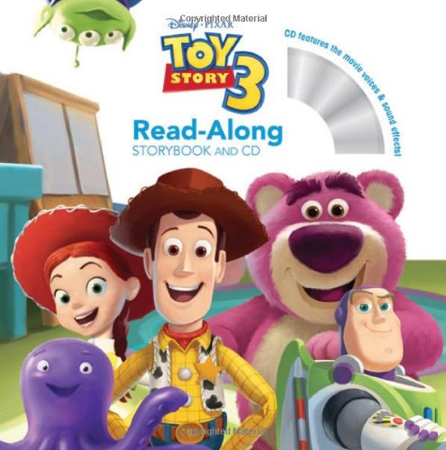 9781423133506: Toy Story 3 Read-Along [With Paperback Book] (Read-Along Storybook and CD)