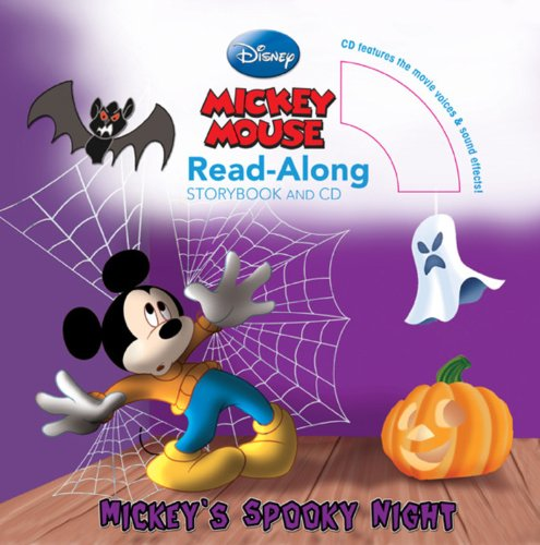 9781423134169: Mickey's Spooky Night Read-Along. Storybook and CD