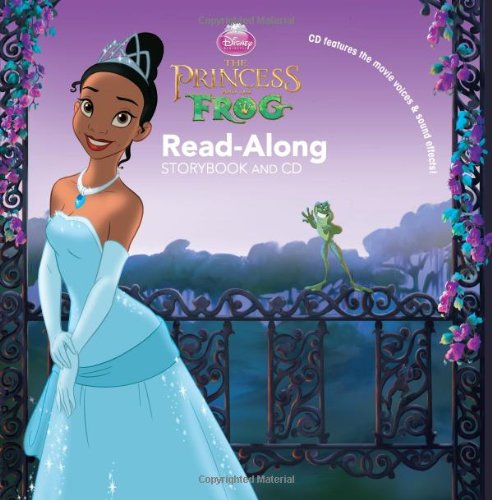 9781423134268: The Princess and the Frog Read-Along Storybook and CD