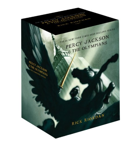 9781423136804: Percy Jackson pbk 5-book boxed set (Percy Jackson & the Olympians)