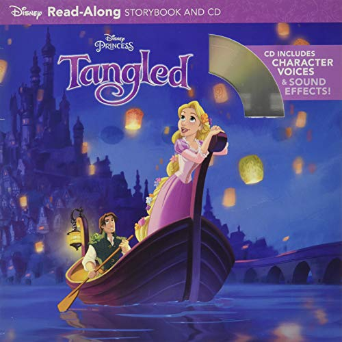 9781423137429: Tangled Read-Along Storybook and CD