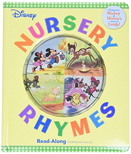 Disney Nursery Rhymes Read-Along Storybook and CD: Disney Book Group