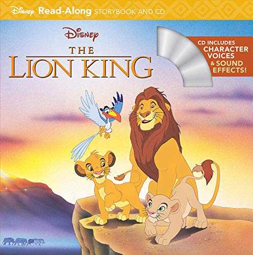 9781423137689: The Lion King: Read-Along Storybook and CD
