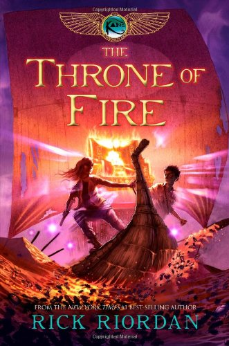 The Throne of Fire: Book Two of the Kane Chronciles (Signed First Edition): Rick Riordan