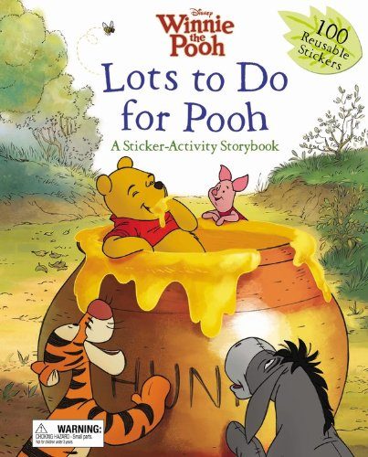 9781423141778: Lots to do for Pooh (A Sticker-Activity Storybook)