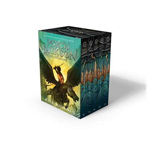 percy jackson and the olympians hardcover boxed set - AbeBooks