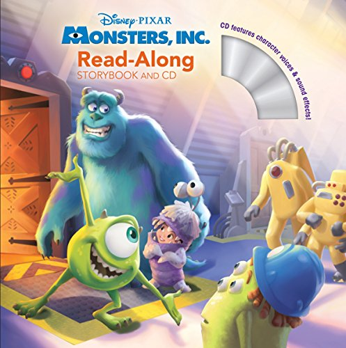 9781423142591: Monsters, Inc. Read-Along Storybook and CD