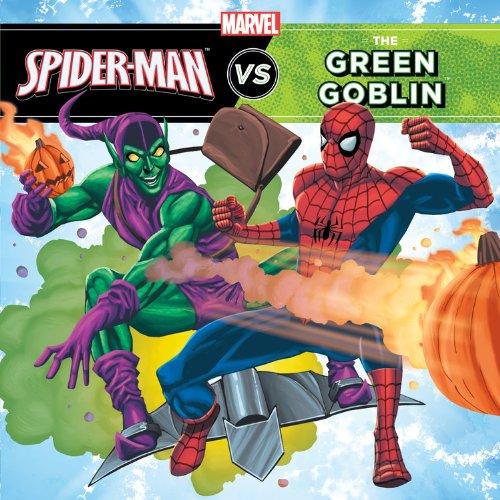 A Marvel Super Hero vs. Book: The Amazing Spider-Man vs. Green Goblin