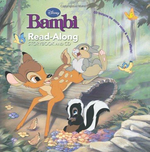 Bambi Read-Along Storybook and CD: Disney Book Group
