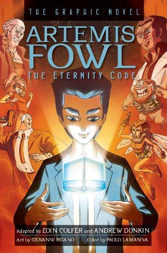 9781423145271: Artemis Fowl The Eternity Code Graphic Novel