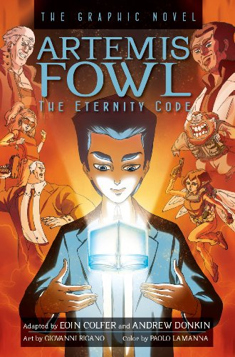9781423145271: Artemis Fowl The Eternity Code Graphic Novel