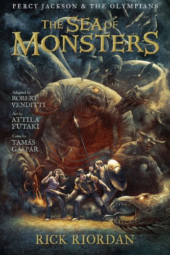 9781423145295: The Sea of Monsters: The Graphic Novel (Percy Jackson and the Olympians, Book 2)