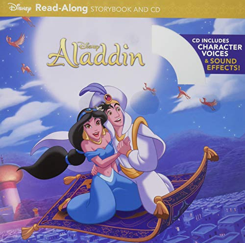 Aladdin Read-Along Storybook and CD: Disney Book Group