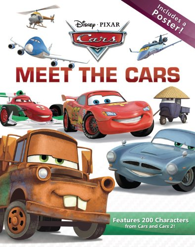 9781423147770: Meet the Cars (Disney Pixar Cars)