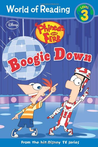 9781423148135: Phineas and Ferb #4: Boogie Down (World of Reading)