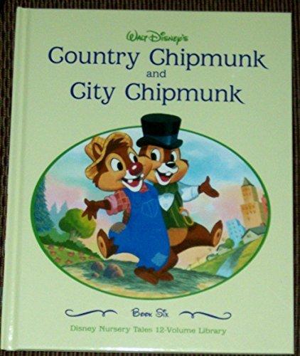 COUNTRY CHIPMUNK AND CITY CHIPMUNK. WALT DISNEY.: WALT DISNEY