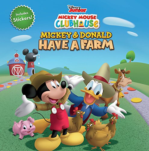 9781423149460: Mickey Mouse Clubhouse Mickey and Donald Have a Farm (Disney Mickey Mouse Clubhouse)