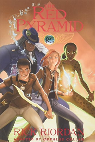9781423150695: The Red Pyramid: The Graphic Novel (Kane Chronicles)