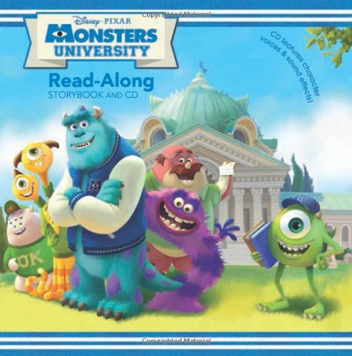 9781423151999: Monsters University Read-Along Storybook and CD
