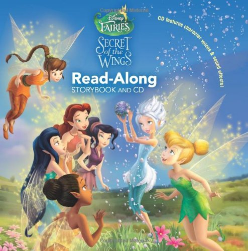 9781423152019: Disney Fairies: The Secret of the Wings Read-Along Storybook and CD