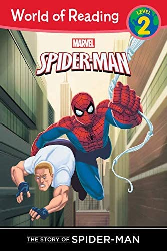 9781423154099: The Story of Spider-Man (Level 2) (World of Reading)