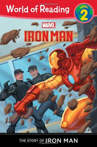9781423154136: The Story of Iron Man (Level 2) (World of Reading)