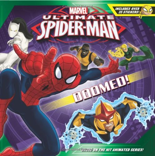 Ultimate Spider-Man Doomed!: Includes Over 35 Stickers!: Castro, Nachie