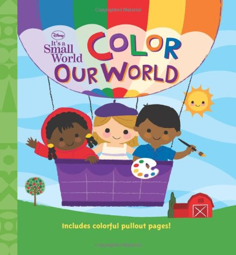 9781423160090: Disney It's A Small World Color Our World