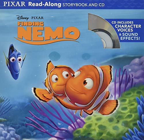 Finding Nemo Read-Along Storybook and CD [Paperback]