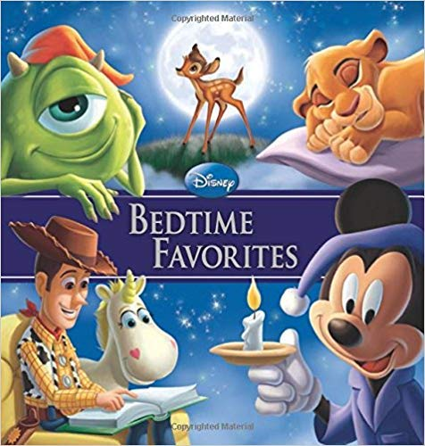 9781423160342: Disney Bedtime Favorites (Storybook Collection)