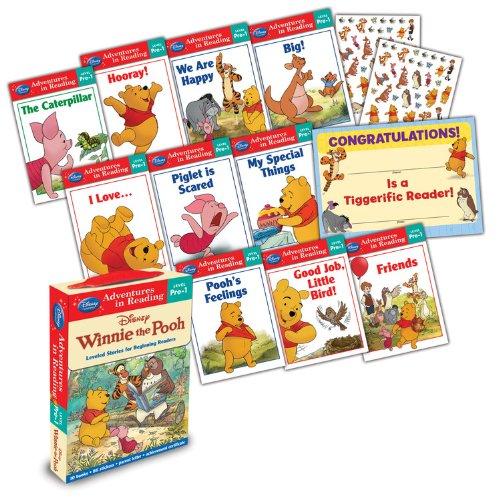 9781423161042: Reading Adventures Winnie the Pooh Level Pre-1 Boxed Set (Adventures in Reading - Level Pre-1)