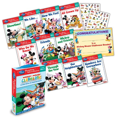 9781423161059: Mickey Mouse Clubhouse: Reading Adventures Mickey Mouse Clubhouse Level Pre-1 Boxed Set