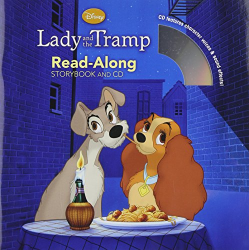 9781423161417: Lady and the Tramp Read-Along Storybook and CD