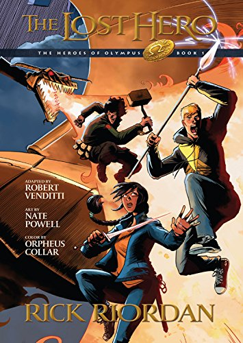 9781423162797: The Heroes of Olympus, Book One The Lost Hero: The Graphic Novel