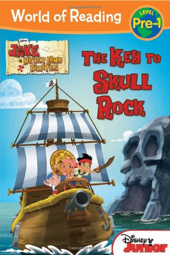 9781423163978: The World of Reading: Jake and the Never Land Pirates: Key to Skull Rock: Level 1