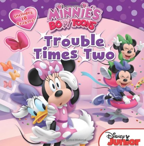 9781423164128: Minnie's Bow-Toons Trouble Times Two: Includes 18 Stickers!