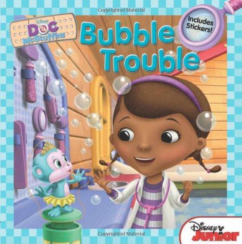 9781423164548: Doc McStuffins Bubble Trouble: Includes Stickers!