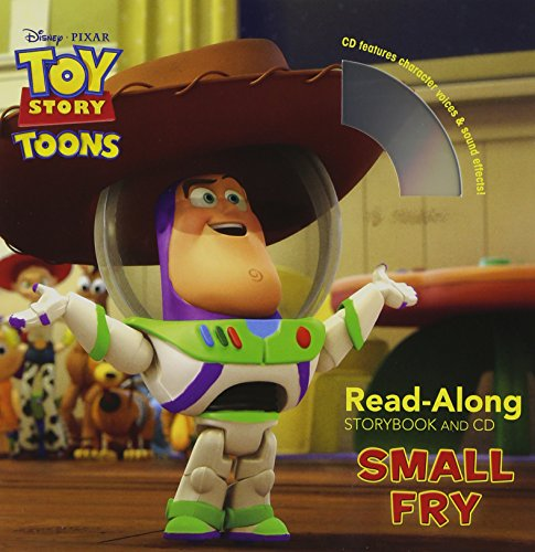 9781423165613: Toy Story Toons: Small Fry Read-Along Storybook and CD