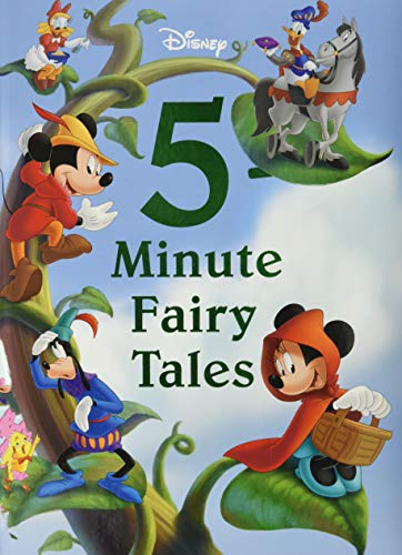 9781423167662: Disney 5-Minute Fairy Tales